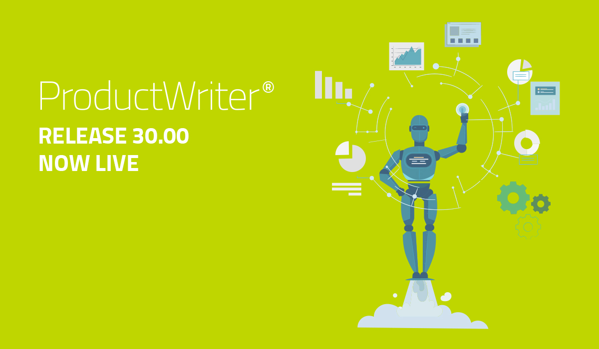 ProductWriter Release 30.00 is now live.